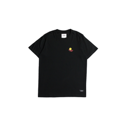 GlamDiv | Happy Go Lucky Tee Black