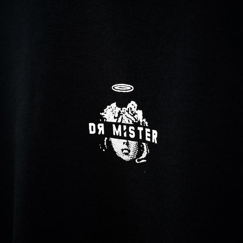 Dr Mister | Good Time At Ease Dream Angel Tee Black