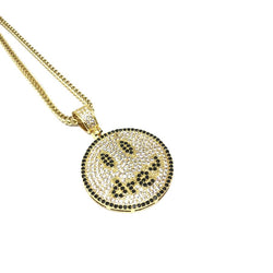 EK | Smiley Necklace Gold