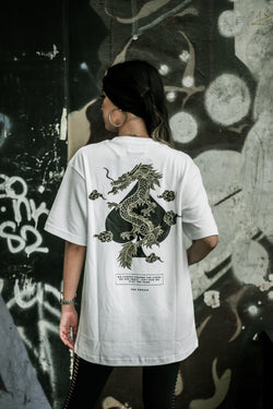 KZ | Dragon Tee White