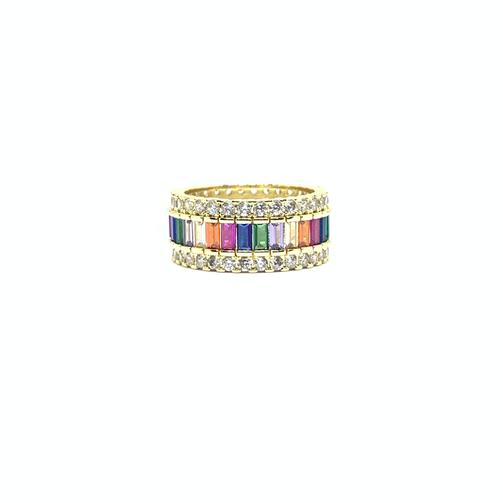 EK | Rainbow Ring Gold