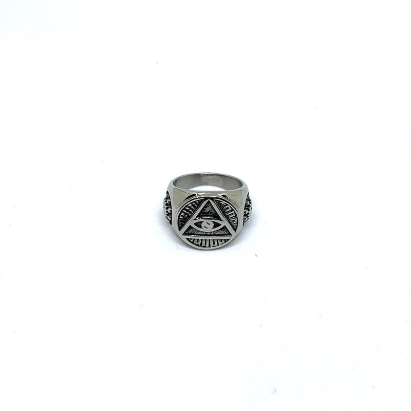 EK | Illuminati Ring Silver