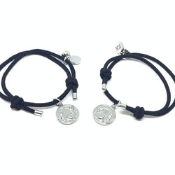 EK | L'amour Magnetic Bracelet Set Black