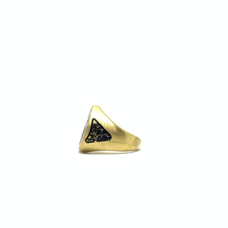 EK | Attitude Ring Gold