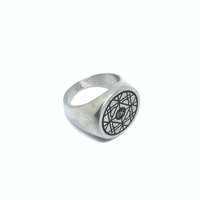 EK | Tribe Ring Silver