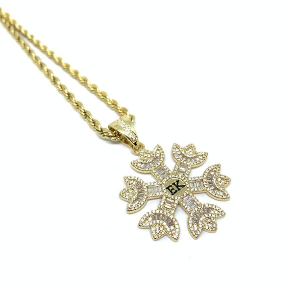 EK | Icy Frost Necklace Gold