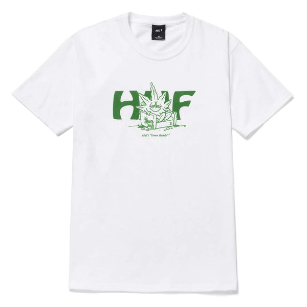 HUF | In Da Couch Tee White