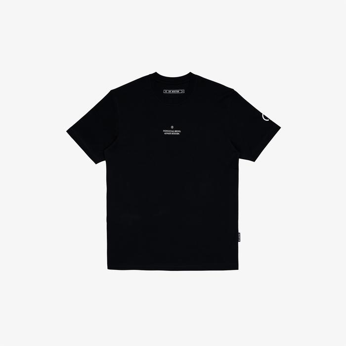 Dr Mister | Nonsocial Being Ghost Tee Black