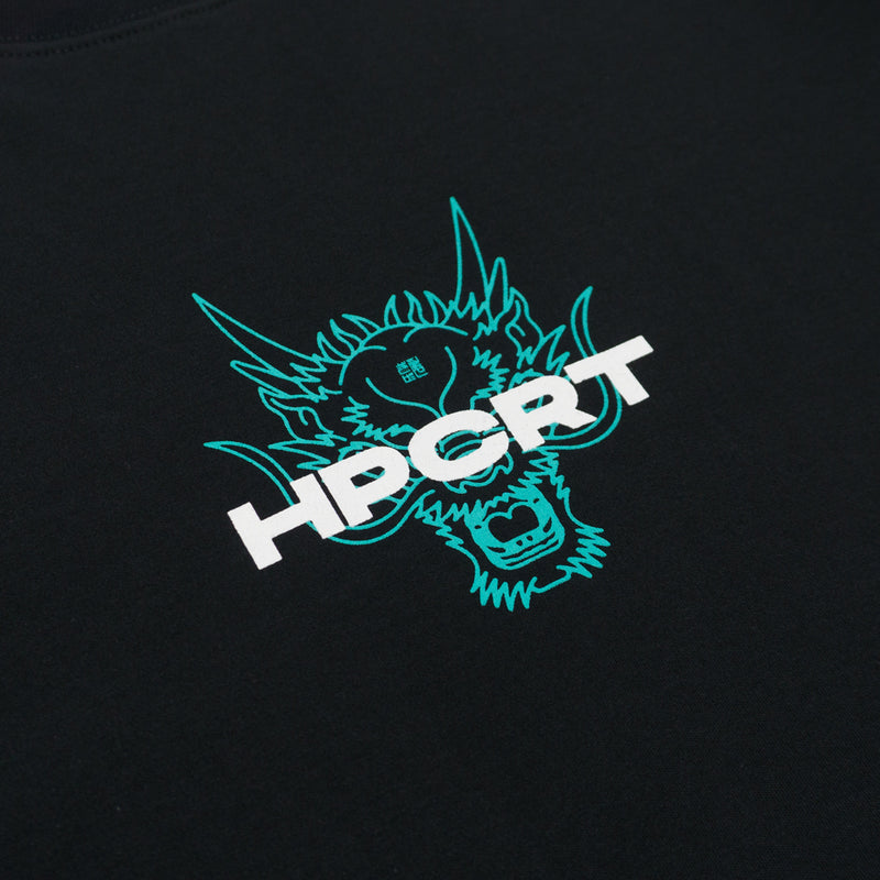 Hippocrate | Mighty Dragon Tee Black