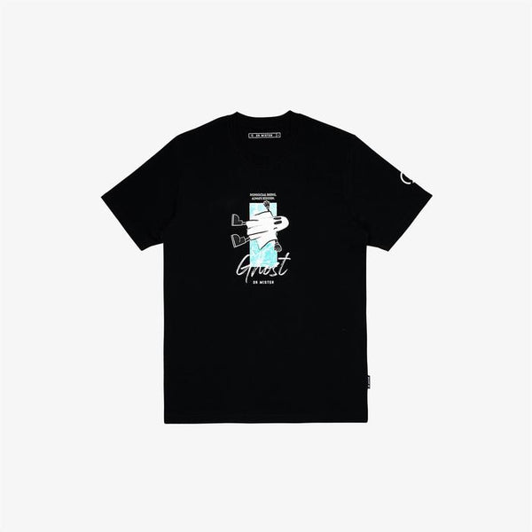 Dr Mister | Nonsocial Being Floating Ghost Tee Black