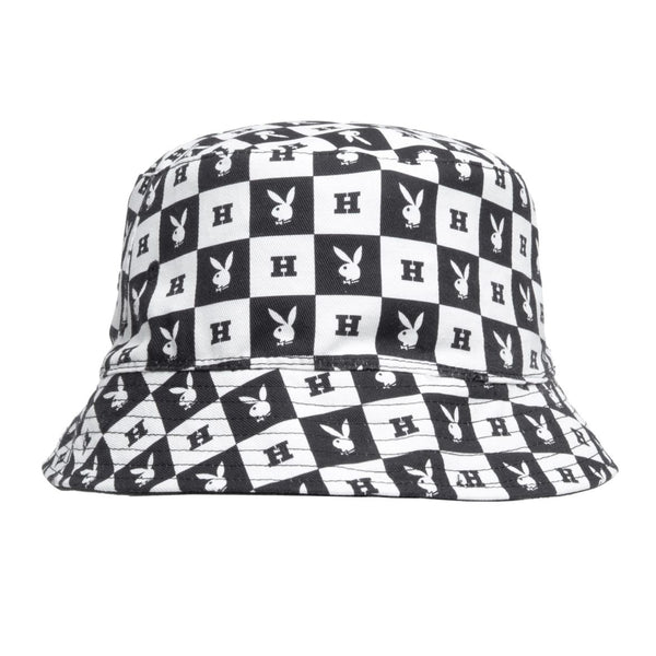 HUF x Playboy Reversible Bucket Hat White