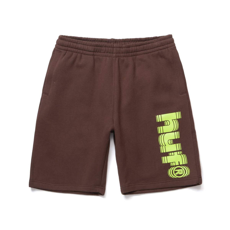 HUF | Shake Fleece Shorts Deep Mahogany