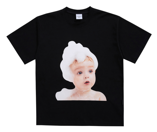 ADLV | Baby Face Bubble Tee Black