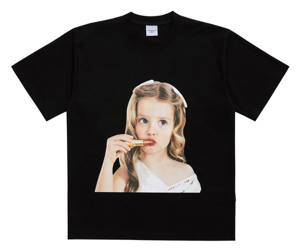 ADLV | Baby Face Lip Stick Tee Black