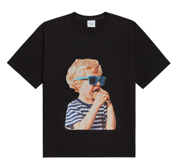 ADLV | Baby Face Sunglasses Tee Black