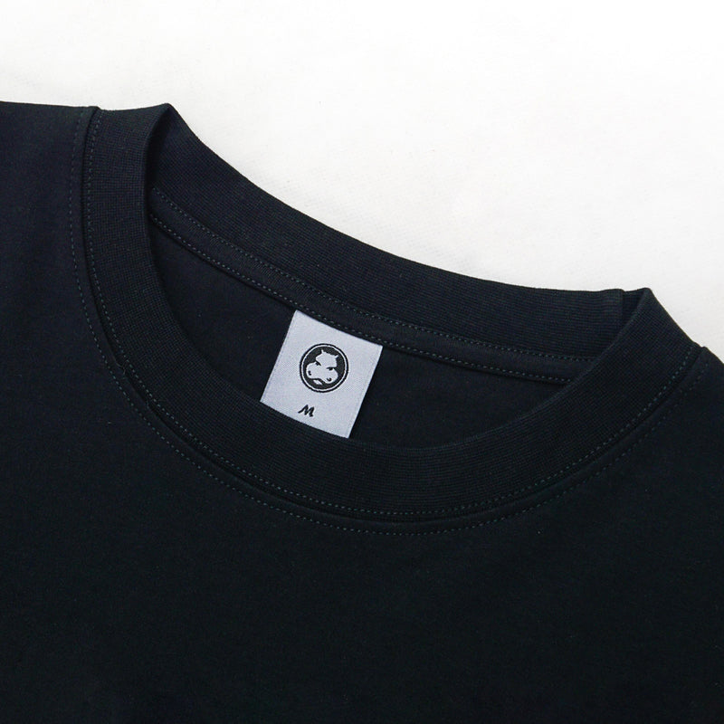 Hippocrate | The Contentment Oversized Tee Black