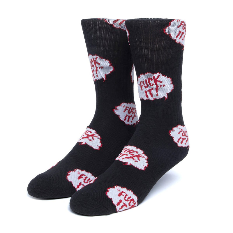 HUF | The Motto Socks Black