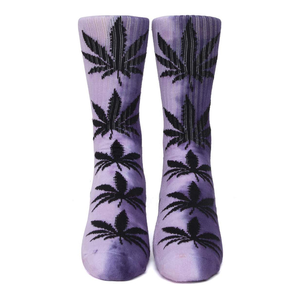 HUF | Tiedye Plantife Socks Purple