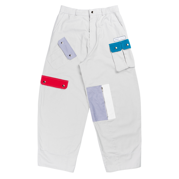 Domino's x TNTCO | Multi Pocket Cargo Pants Grey