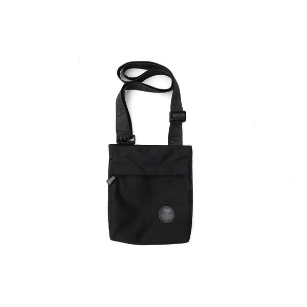 Hippocrate | Vintage Shoulder Sack Black