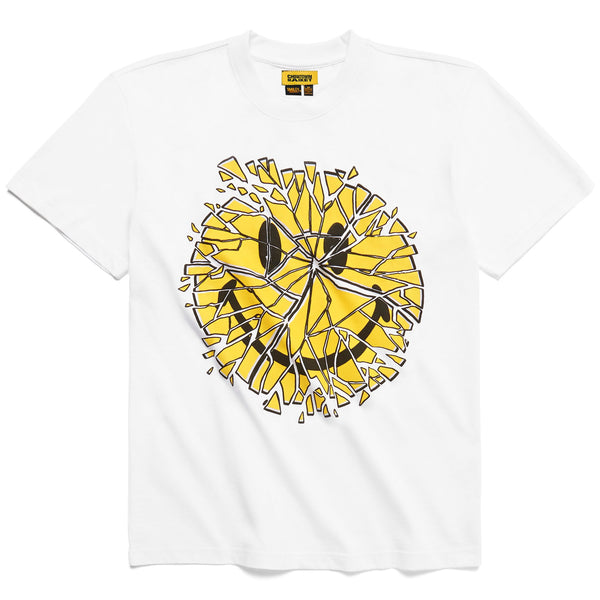 CTM | Smiley Glass Tee White