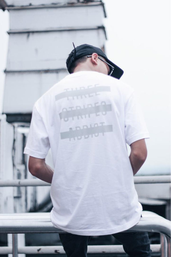 GlamDiV | Addict Tee Triple White