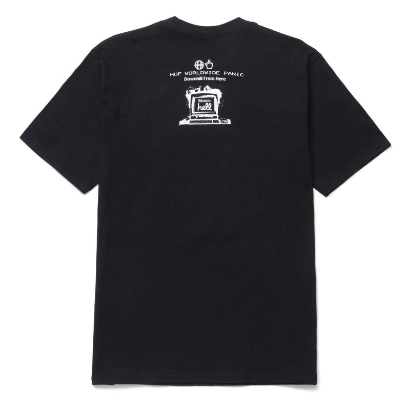 HUF | Y2K Day Tee Black
