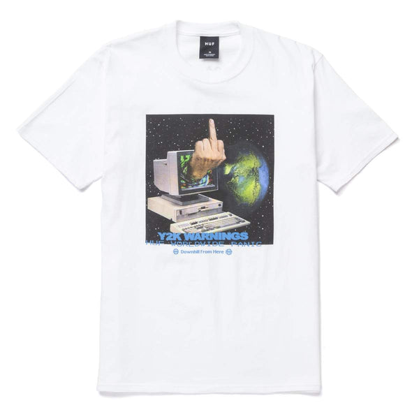 HUF | Y2K Day Tee White