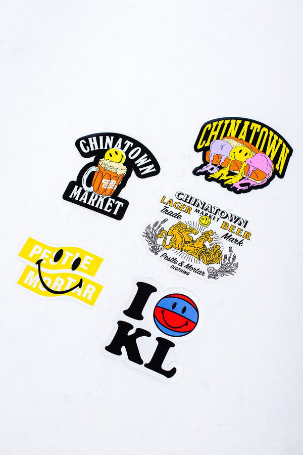 PMC x Chinatown Market 5 Pcs Sticker Pack