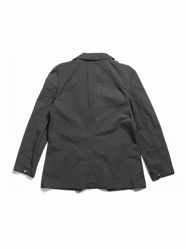 Against Lab | Lightweight Nylon Blazer Grey