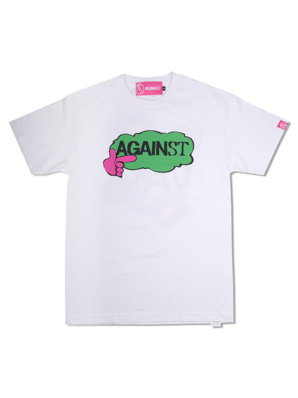 Against Lab | Promo Logo Tee White