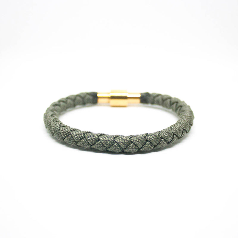 Touchwood | Braided Single Wrap Grey