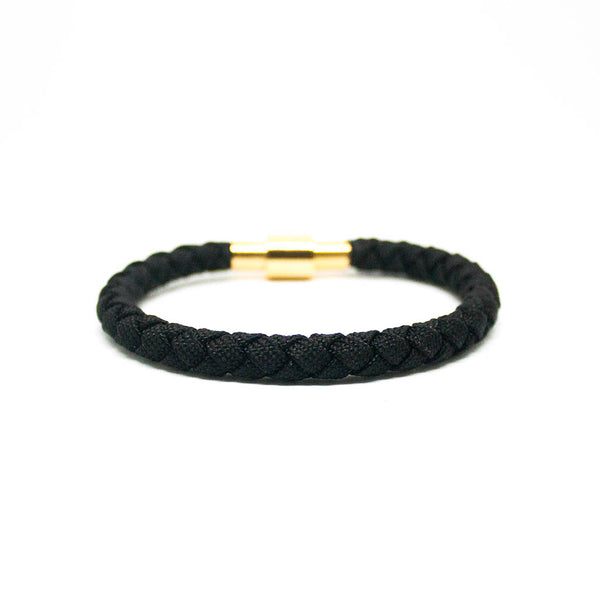 Touchwood | Braided Single Wrap Black