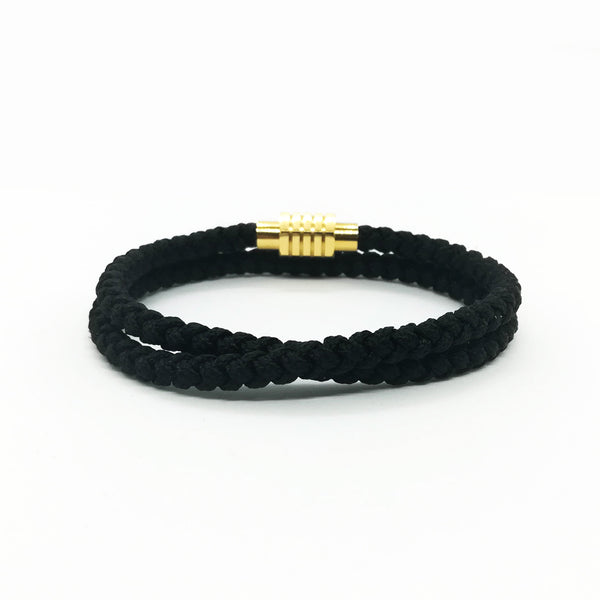 Touchwood | Braided Double Wrap V2 Black