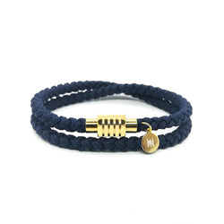 Touchwood | Braided Double Wrap V2 Navy