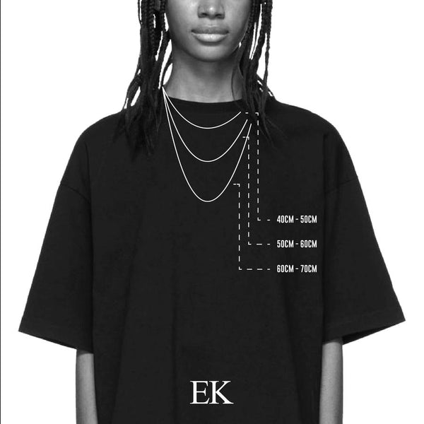 EK | The Leaf Silver Chain
