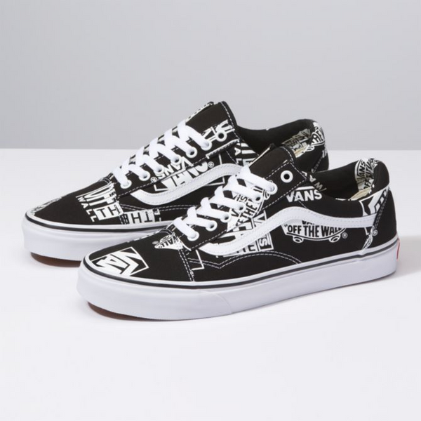 Vans | Old Skool Logo Mix Black/White