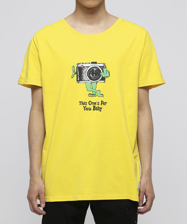 FR2 x Jungles | This Ones For You Tee Yellow
