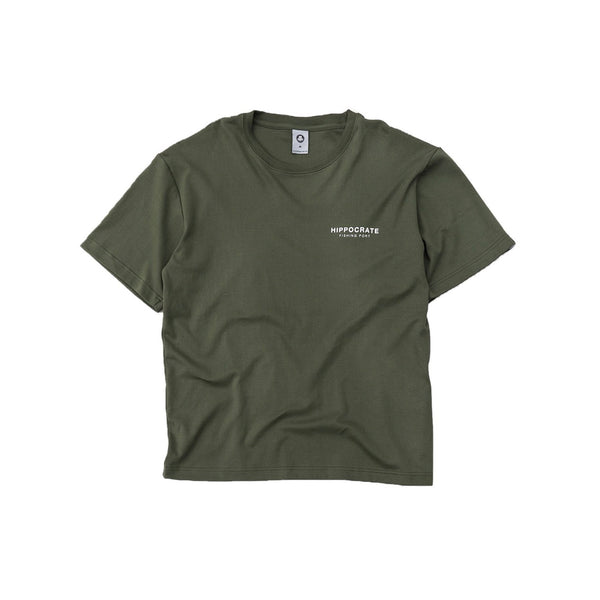 Hippocrate | Essential For The Minimalist Tee Green