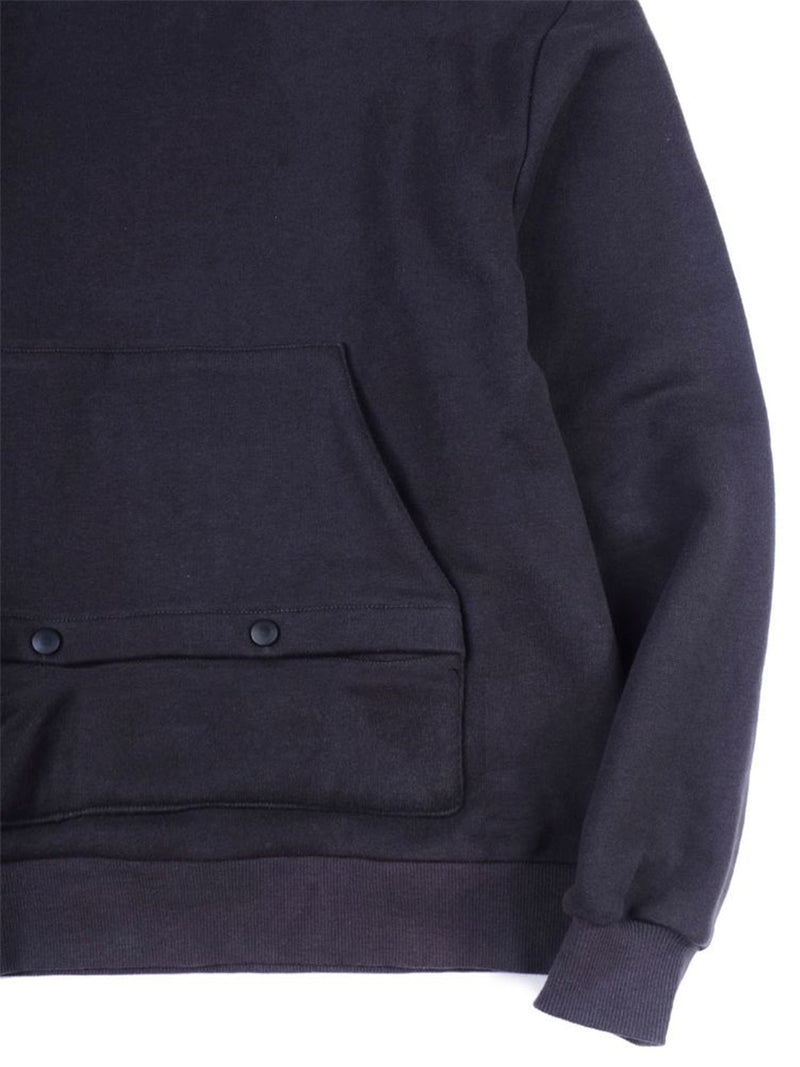 Against Lab | Two Tone Hoodie Navy Blue