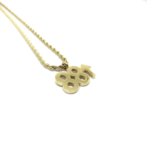 EK | 88 Rising Necklace Gold