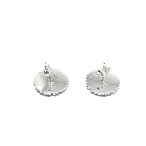 EK | Sunflower Earring Silver