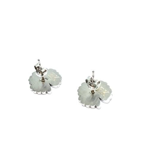 EK | Sunflower Earring White