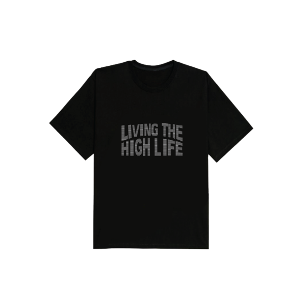 EK | Living The High Life Tee Black