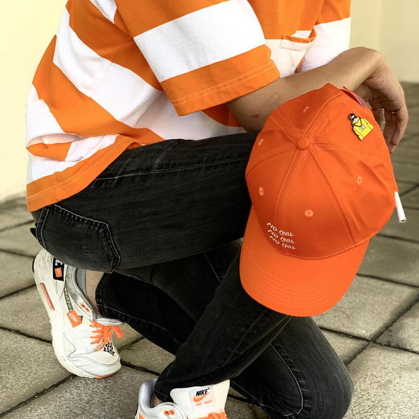 EK | No Chill Dad Cap Orange