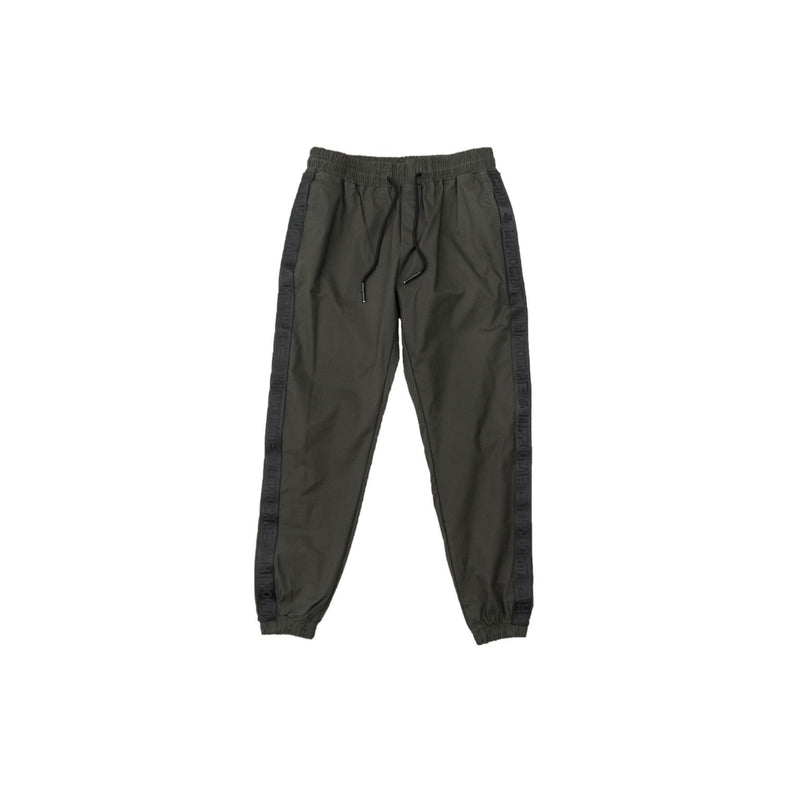 Hippocrate | Classical Strapped Pants Green