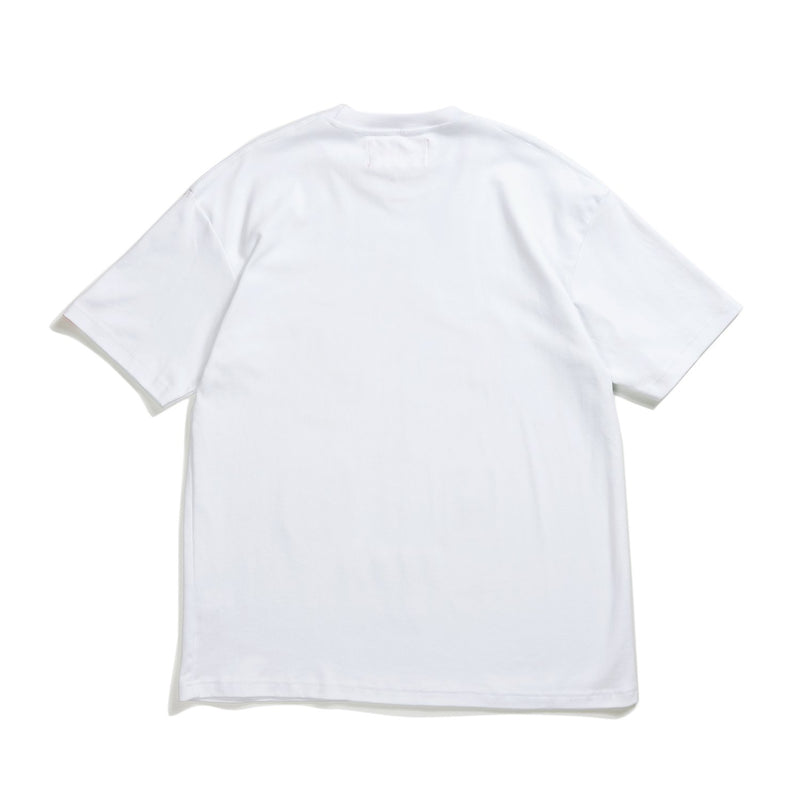 Against Lab | Varcity Tee White