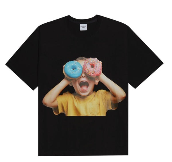 ADLV | Baby Face Donut 5 Tee Black