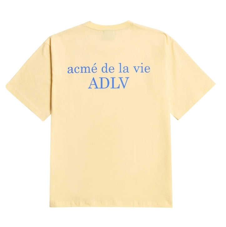 ADLV | Basic Tee 2 Light Yellow