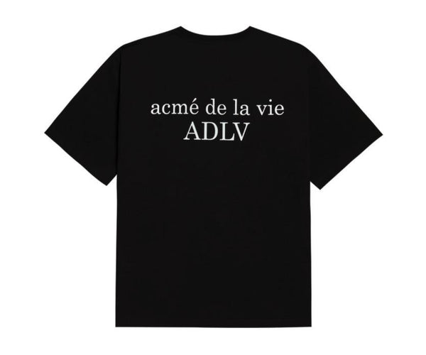 ADLV | Baby Face Two Boys Tee Black